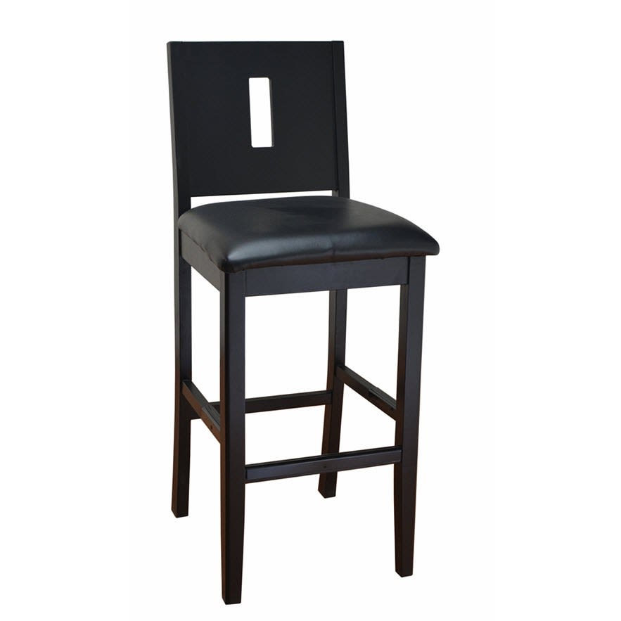 Modern Deco Wood Bar Stool