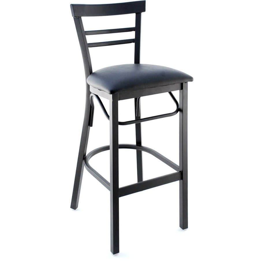 Clarice Bar Stool with 2 Back Bars