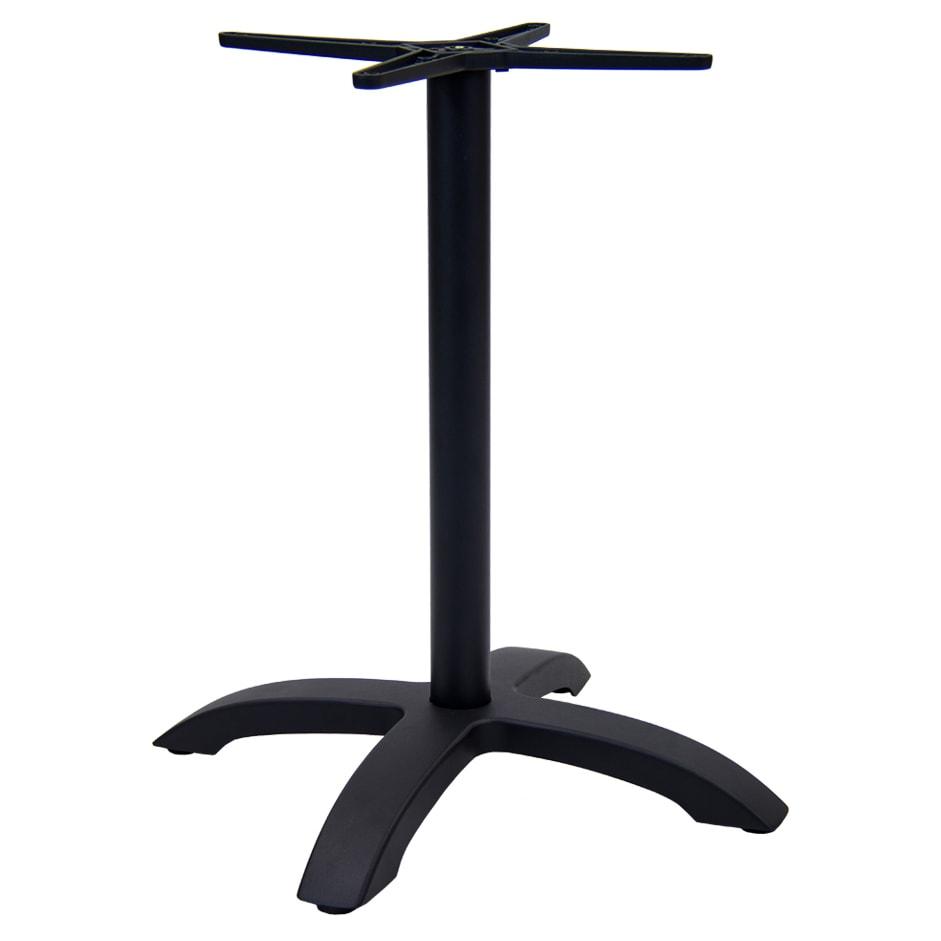 Black Aluminum Table Base