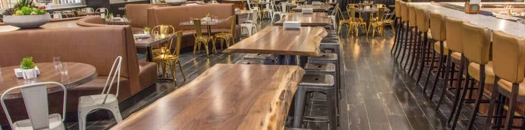 Commercial Furniture in restaurant