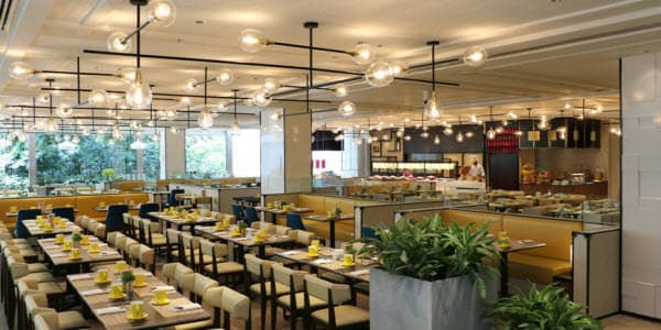 Modern restaurant design and furniture