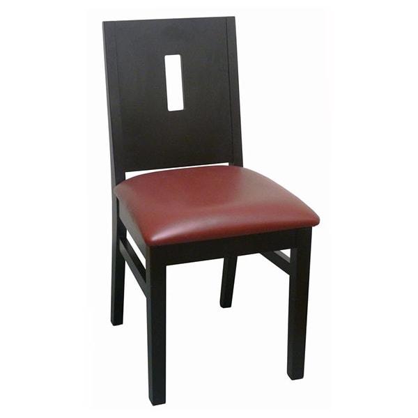 Modern Deco Style Wood Chair