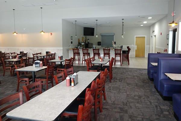Southern food restaurant interior